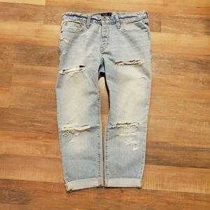 A&F Boyfriend Jeans